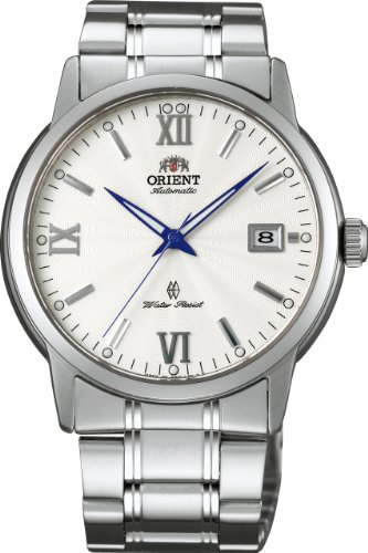 [オリエント時計] 腕時計 ワールドステージコレクション スタンダード 自動巻き WV0551ER シルバー
