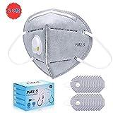 マスク 使い捨て PM2.5対応マスク 立体 ますく ふつうサイズ 排気弁付き 個包装 20枚入れ