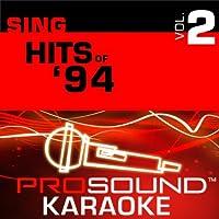 Sing Female Hits Of '94 Vol. 2 [KARAOKE]