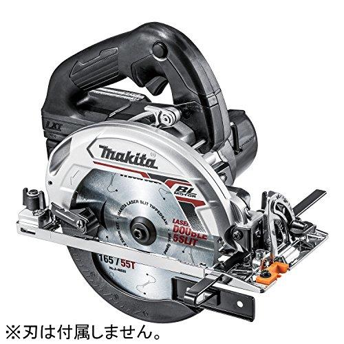 マキタ 165mm充電式マルノコ (本体のみ/バッテリー・充電器別売) 黒 HS631DZB