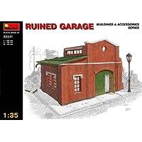 Miniart 1 : 35 blitzed ruinedガレージモデルキット35511 diorama buildingsアクセサリー