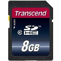【Amazon.co.jp限定】Transcend SDHCカード 8GB Class10 TS8GSDHC10E (FFP)