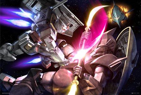 300ピース ガンダム 宇宙の激闘 83-023