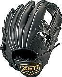 ZETT(ゼット) 少年野球 軟式 グラブ (グローブ) グランドヒーローライジング オールラウンド ピッチャー 内野手 外野手 右投用 ブラック(1900) LH BJGB72840