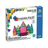 Magna-Tiles 32-Piece Clear Colors Set