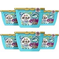 【ケース販売】ボールド 洗濯洗剤 ジェルボール3D 爽やかプレミアムクリーンの香り 本体 18個×6