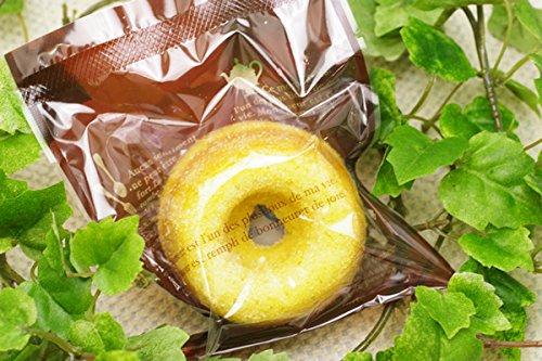 無肥料・自然栽培小麦粉を使用した焼きドーナツ(×20個)