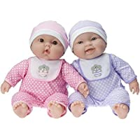 JC Toys Lots To Cuddle Babies Twin Dolls Designed by Berenguer