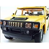 1/24 RC ハマー H2 SUV ノーマルバージョン ラジコン Hummer H2 SUV Normal Version GK (イエロー)