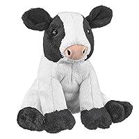 Wildlife Artists Cow Farm Critters Plush Toy 8 Cow Stuffed Animal [並行輸入品]