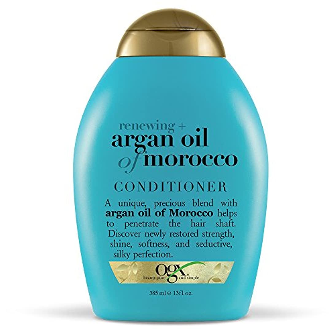 解体する拡散する熟読Organix Conditioner Moroccan Argan Oil 385 ml (並行輸入品)