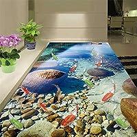 LJJLM 自己接着床壁画自然湖写真壁紙PVC防水タイル壁紙-280X200CM