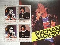 セントビンセント切手『マイケルジャクソン』4枚シートC