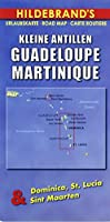 Hildebrand's Travel Map: Lesser Antilles - Guadeloupe, Martinique