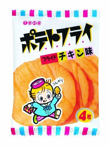 東豊製菓 ポテトフライ フライドチキン 袋11g