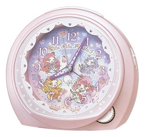 SEIKO CLOCK (セイコークロック) 目覚まし時計 リルリルフェアリル アナログ ピンクパール CQ151P