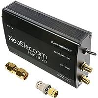 Ham It Up Plus - TCXOおよび個別のノイズ源回路を備えたHF/MF/LF/VLF/ULFアップコンバータ。 カスタムメタルエンクロージャに完全に組み立てられました。 お気に入りのラジオの周波数範囲を300Hzまで延長します。