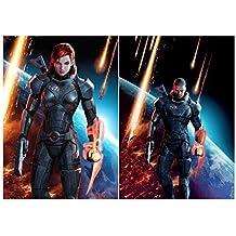 Set of 2 Mass Effect 3 Posters by Mass Effect [並行輸入品]