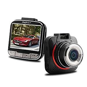 Skygenius ドライブレコーダー 400万画素 170°広視野角 1080P 吸盤タイプドラレコ