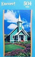 Encore 504pc. Puzzle-Ke Ola Mau Loa Church, Waimee, HI By Mega [並行輸入品]