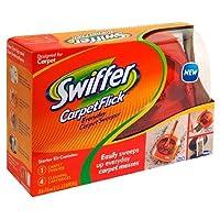 Swiffer Carpet Flick Carpet Sweeper Starter Kit, 1 kit