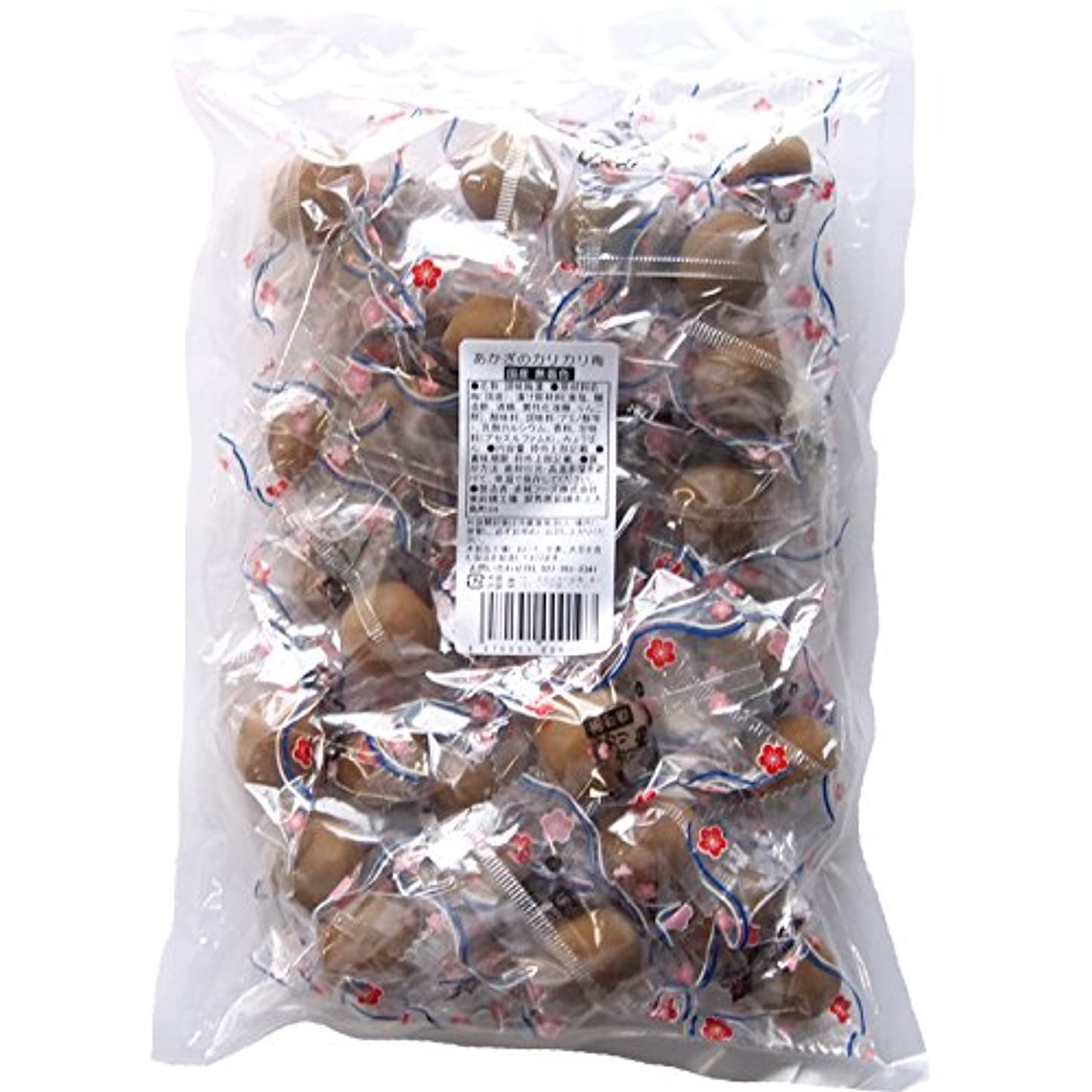 ダンプ倍増改善赤城フーズ あかぎのカリカリ梅 国産無着色 40粒×2袋