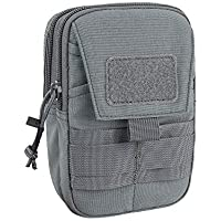 EXCELLENT ELITE SPANKER Tactical Molle EDC Pouch Nylon Utility Gadget Waist Bag Pouch Organizer with Cell Phone Holster Holder