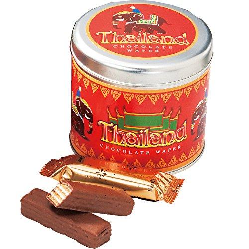 タイ 土産 エレファント チョコウエハース 1缶 (海外旅行 タイ お土産)