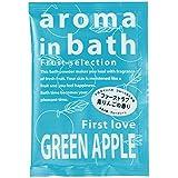 入浴剤 アロマインバス(グリ-ンアップルの香り)25g
