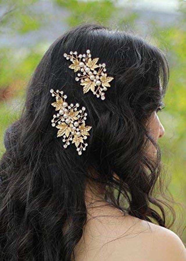 複製間違い大胆不敵FXmimior Bridal Vintage Hair Comb Women Vintage Wedding Party Crystal Rhinestone Vintage Headpiece Hair Accessories...