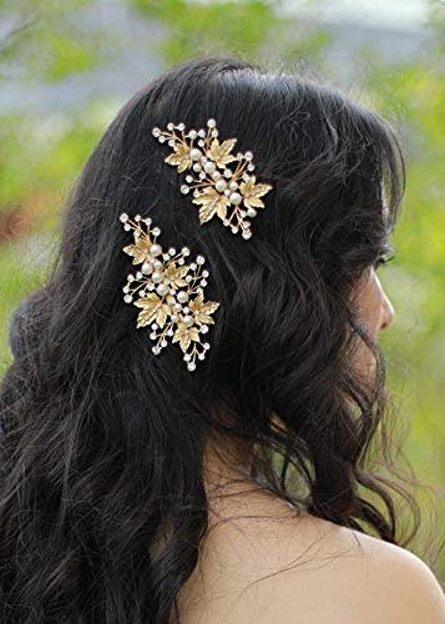 灰理想的には粘土FXmimior Bridal Vintage Hair Comb Women Vintage Wedding Party Crystal Rhinestone Vintage Headpiece Hair Accessories...