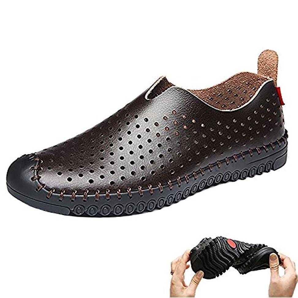 醜いハンドブック展示会FEIDA 革靴 メッシュ ビジネスシューズ 本革 スリッポン スニーカー ウォーキンースアップ カジュアル メンズ 快適 軽量 通気性