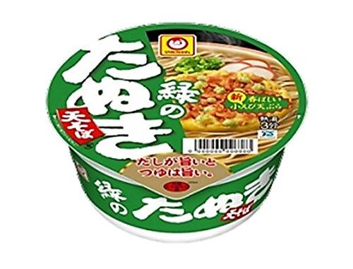 マルちゃん 緑のたぬき天そば(西) 96g×12個...
