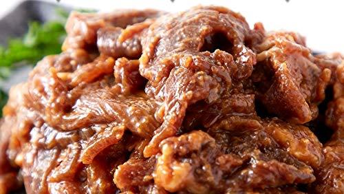 にんにく味噌ダレ牛肉大容量1kg(約500g×2パック)【訳あり】