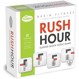 シンクファン (ThinkFun) ラッシュアワー・ブレインフィットネス (Rush Hour Brain Fitness) [正規輸入品] パズルゲーム