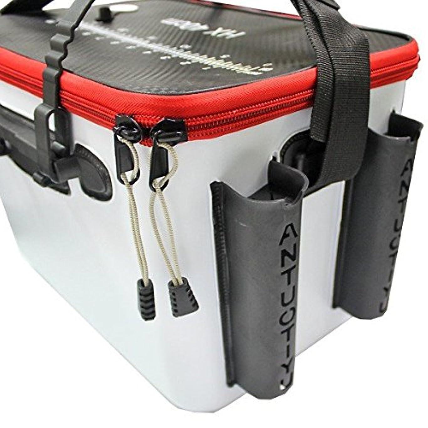 交じる勢い巡礼者EVA タックルバッグ キーパーバッカン フィッシュキープ ロッドホルダー付 タックルバッグ