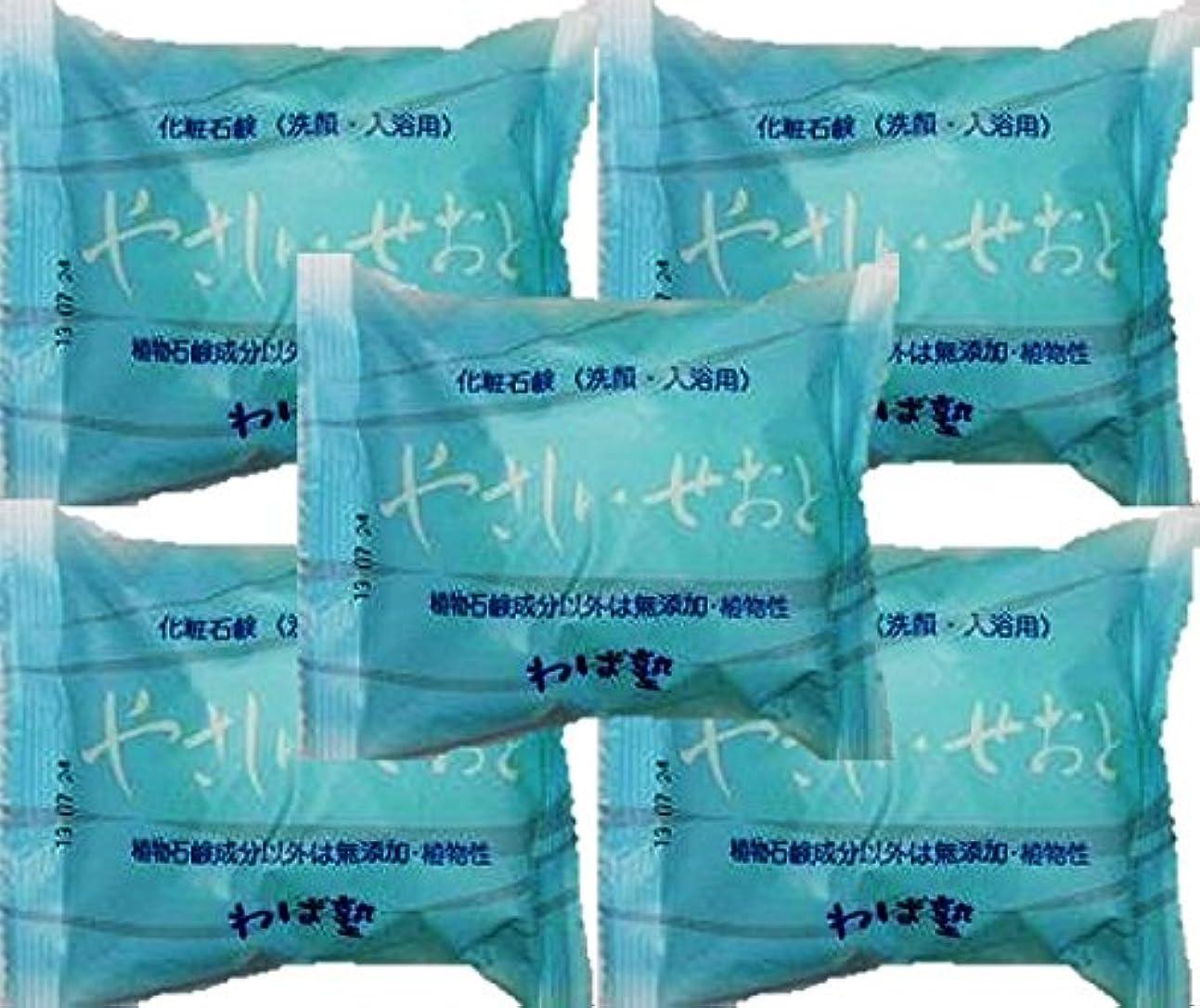 永遠にタウポ湖食い違いねば塾 化粧石鹸 やさしい?せおと100gX5個セット