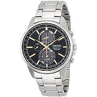 [SPIRIT SMART]スピリットスマート 腕時計 ソーラー クロノグラフ サファイアガラス 10気圧防水 SBPJ007 メンズ