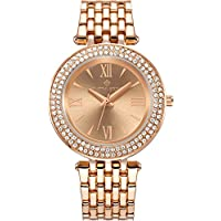 Timothy Stone Women's Burst-Stainless Rose Gold-Tone Watch