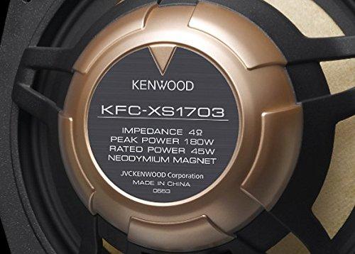 ケンウッド(KENWOOD) 17cmセパレートカスタムフィット・スピーカー KFC-XS1703