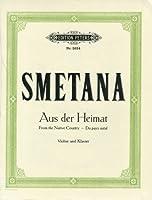 スメタナ : わが故郷より/ペータース社/ピアノ伴奏付バイオリン・ソロ楽譜