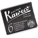 Kaweco Compact Fountain Pen Ink Cartridges, Black, (KW-10000257)