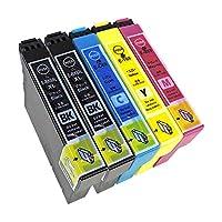 エプソン IC69-(BK×2/C/M/Y) ブラック大容量 5本セット 『EPSON』互換インクカートリッジ 残量検知機能付き(ICチップ付) 『納得の安心保証付き』 【Color Shop製品】