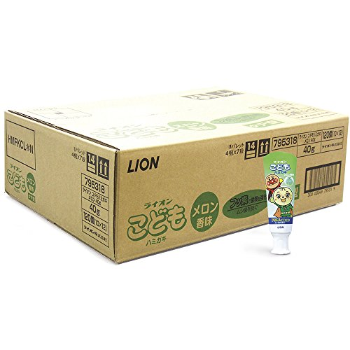 こどもハミガキ アンパンマン メロン香味 40g×120個パック 医薬部外品