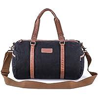 Gootium Duffel Bag - Canvas Travel Duffle Weekender Shoulder Bags Gym Tote