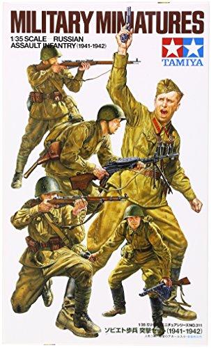 1/35 ミリタリーミニチュアシリーズ No.311 ソビエト歩兵突撃セット (1941-1942)