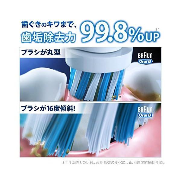 ブラウン オーラルB 電動歯ブラシ PRO20...の紹介画像3