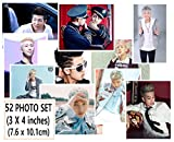 BTS 写真セット Bantan Boys 52ピース( 3 x 4インチ)およびSoltreeBundleボールペン(ブラック) BigHit Entertainment