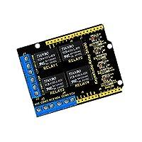 Baosity 拡張ボード 4チャンネル 5V リレーシールドモジュール Arduino UNO R3対応