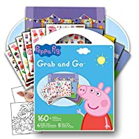 Peppa Pig Sticker Activity Play Set Bundle with 2 Specialty Reward Stickers by GWW 【You&Me】 [並行輸入品]